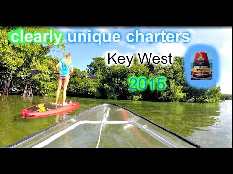 clearly unique charters kayaking trip key west 2015 GoPro HD