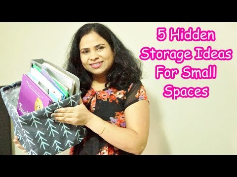 Use These 5 Hidden Storage Spaces Ideas For Extra Home Storage Space