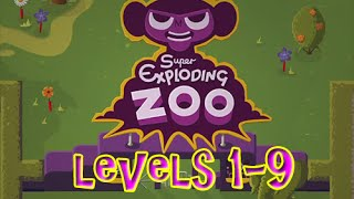 Super Exploding Zoo - Gameplay PS4 Levels 1-9