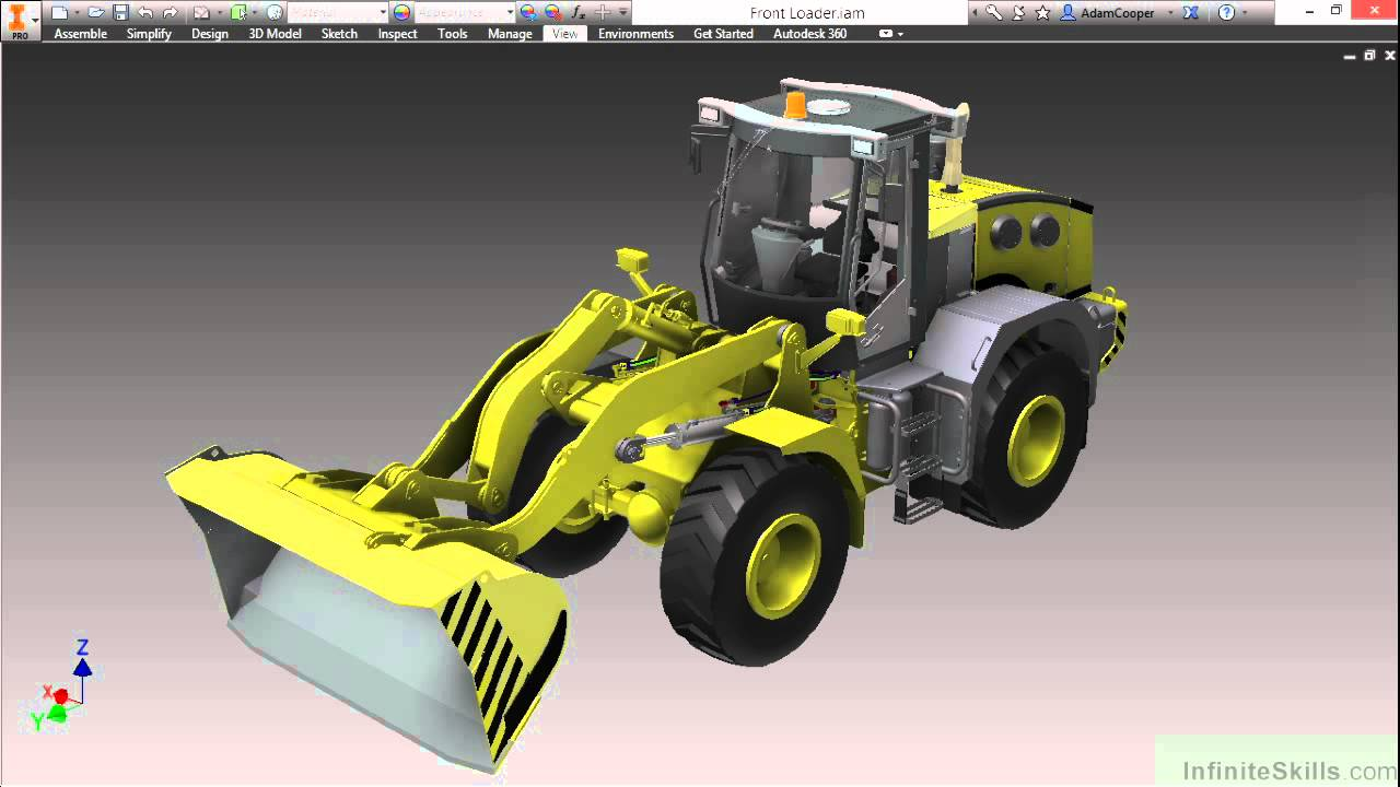 Autodesk Inventor 2015 Tutorial | Introduction To Autodesk ...