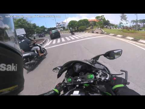 back home bali lombok ninja h2 vs z800 part 1