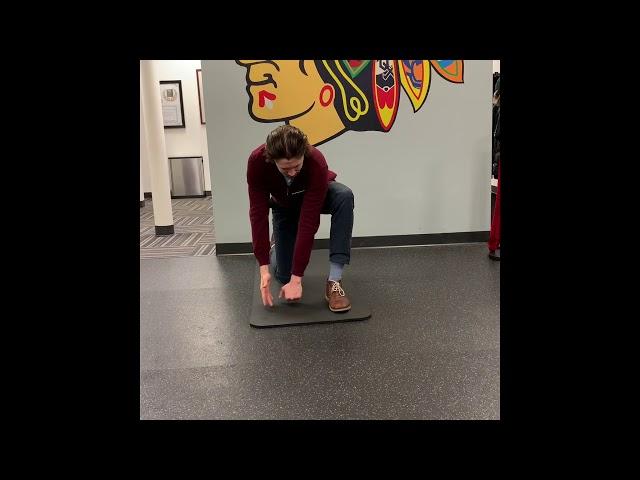 Kneeling Split Stance Thoracic Rotations