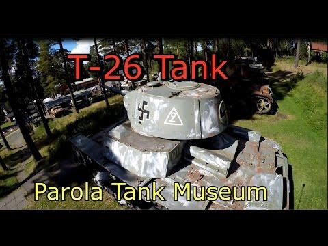 T-26 Tank-World War II Parola Tank Museum