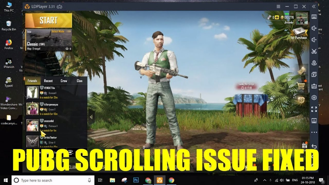 Fix] PUBG Mouse Scrolling Not Working in LDPlayer - Easy Solution