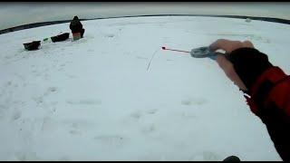 Вечерний клёв плотвы. Рыбалка в марте 2020. Опасная рыбалка на Белоярском водохранилище. Безнасадка.