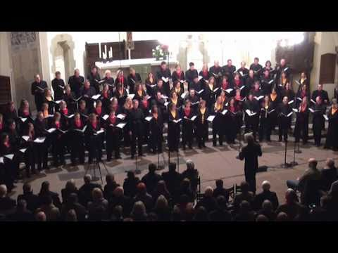 Eric Whitacre conducts WITH A LILY IN YOUR HAND (Junges Vokalensemble Hannover)