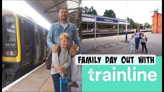 FAMILY DAY OUT WITH THE TRAINLINE APP / AD