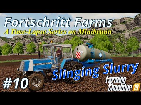Farming Simulator 19   Fortschritt Farms #10   Slinging Slurry