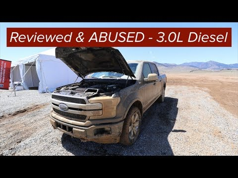 Ford F150 3.0L Diesel Reviewed and ABUSED Power Stroke