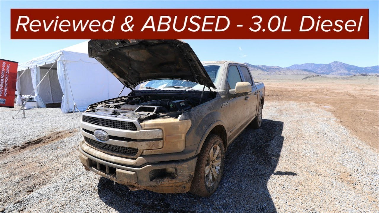 Ford f150 3 0l diesel reviewed and abused power stroke
