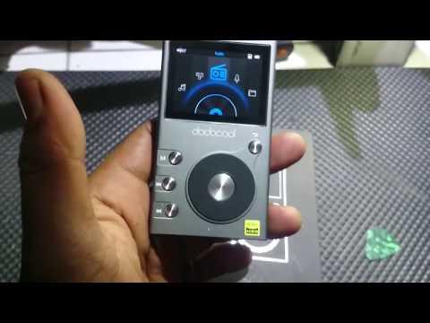 Unboxing DAP dodocool - Hi-Fi digital audio player murah model DA106