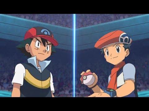 Pokemon Battle USUM: Sinnoh Ash Vs Lucas Pokemon Anime Vs Pokémon Game