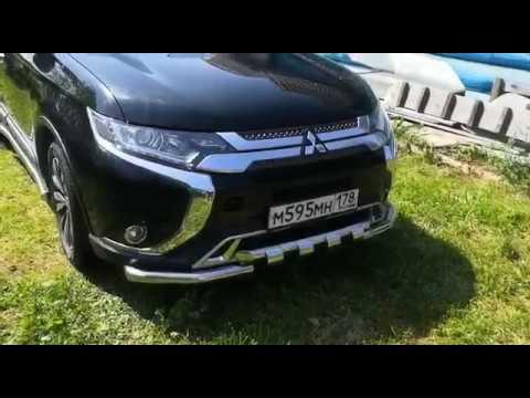 Обвесы и пороги на Mitsubishi Outlander 2019