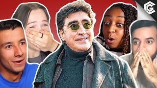 Literally EVERYBODY Reacts to Doc Ock in the Spider-Man: No Way Home Teaser Trailer