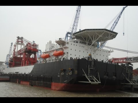 For Sale: NEW BUILDING ORDER/CHARTERING 2000/3000 T DERRICK PIPELAY BARGE