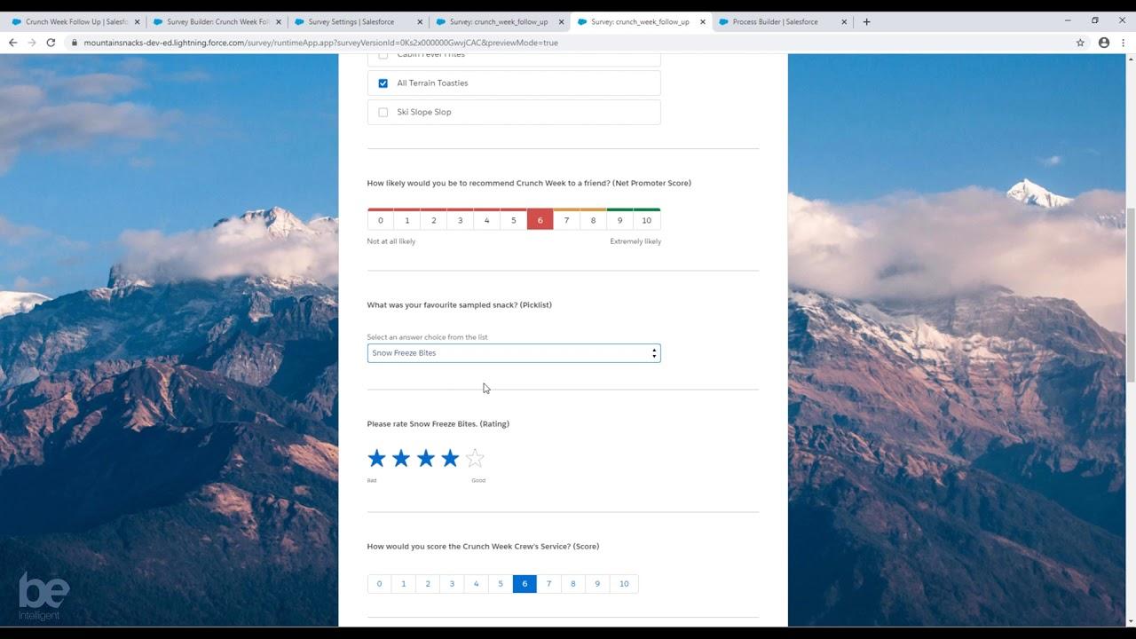 Salesforce Surveys Overview