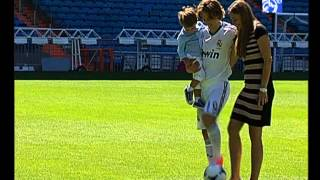 Luka Modric's first day as a Real Madrid player