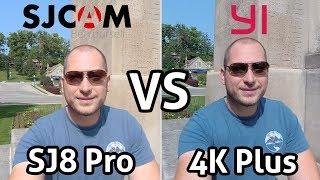 YI 4K+ VS SJCAM SJ8 Pro!