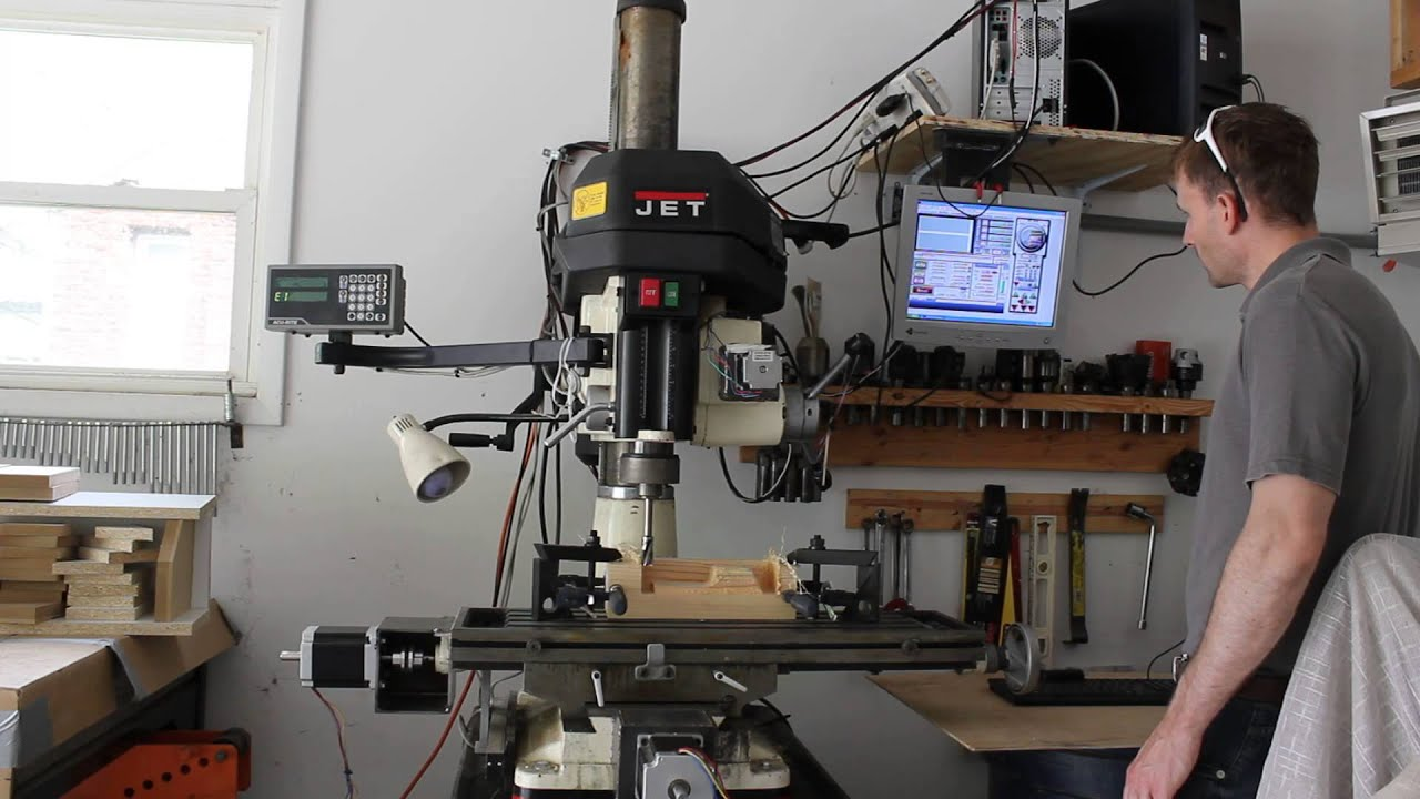 longs cnc 3 axis cnc kit part 4 mount to jet mill youtube. Black Bedroom Furniture Sets. Home Design Ideas