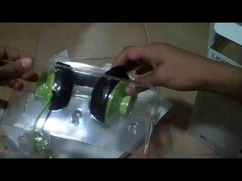 Medion Lifebeat headset unboxing
