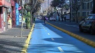 Alcaldesa de Santiago anunció la construcción de una red de ciclovías