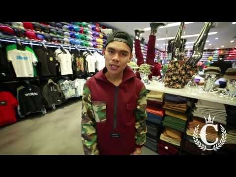 Chinga Clothing - Camo Maroon Pullover Hoody (feat. Prince @ Culture Kings Sydney)