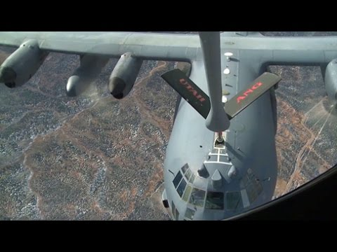 Refueling Special Ops C-130