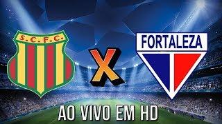 Sampaio Correa X Fortaleza AO VIVO