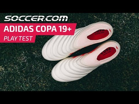 adidas Copa 19 Play Test Review –Laceless leather cleats!