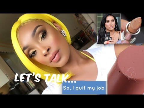 CHIT CHAT GRWM: WHAT WE CAN ALL LEARN FROM JACLYN HILL + WHY I QUIT MY JOB & WHY YOU SHOULD TOO! thumbnail