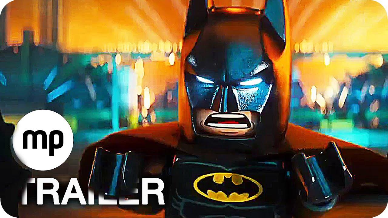 THE LEGO BATMAN MOVIE Trailer 2 German Deutsch (2017)