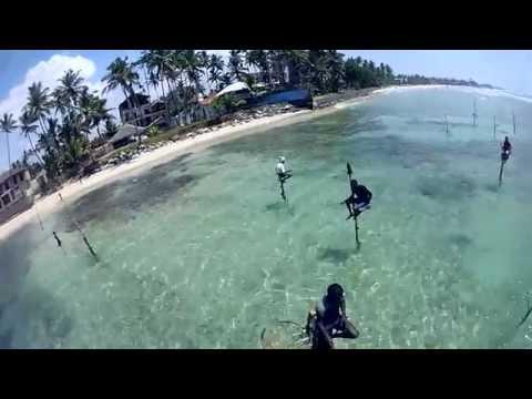 Sri Lanka Fishing On Stilt
