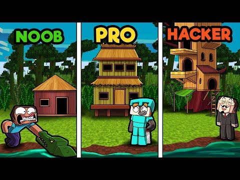 minecraft---jungle-biome-house!-(noob-vs-pro-vs-hacker)