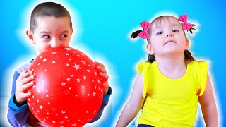 Nart Learn Color With colorful balloons | Nursery Rhymes and Kids songs