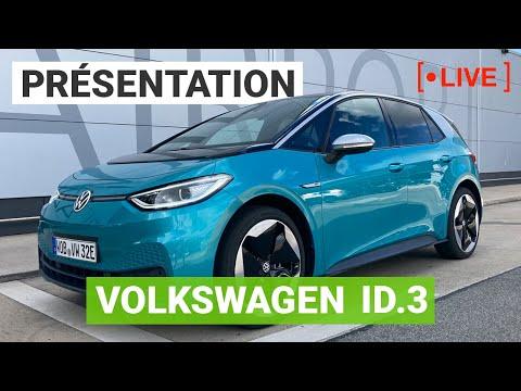 Tout savoir sur la Volkswagen ID3 ! Live en direct d'Hanovre
