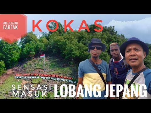 KOKAS, Kota Basis Pertahanan Perang Dunia ke-II di Fakfak Papua Barat (Pv_166)