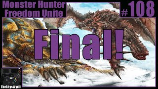 Monster Hunter Freedom Unite Playthrough | Part 108 [Final]