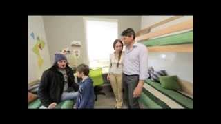 видео Детская комната для троих детей