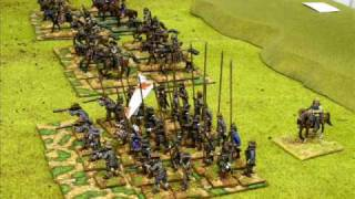 Battle 6. Thirty Years War, Battle of Wimpfen 1622, 25mm.