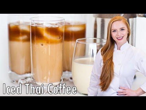 Iced Vanilla Thai Coffee