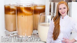 Iced Vanilla Thai Coffee