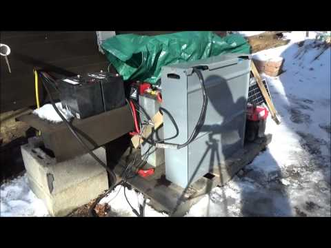 Working With Solar Forklift Batteries & A New Tower