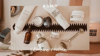 ASMR Skincare Routine