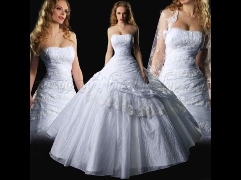 Самая красивая свадебные платья фото