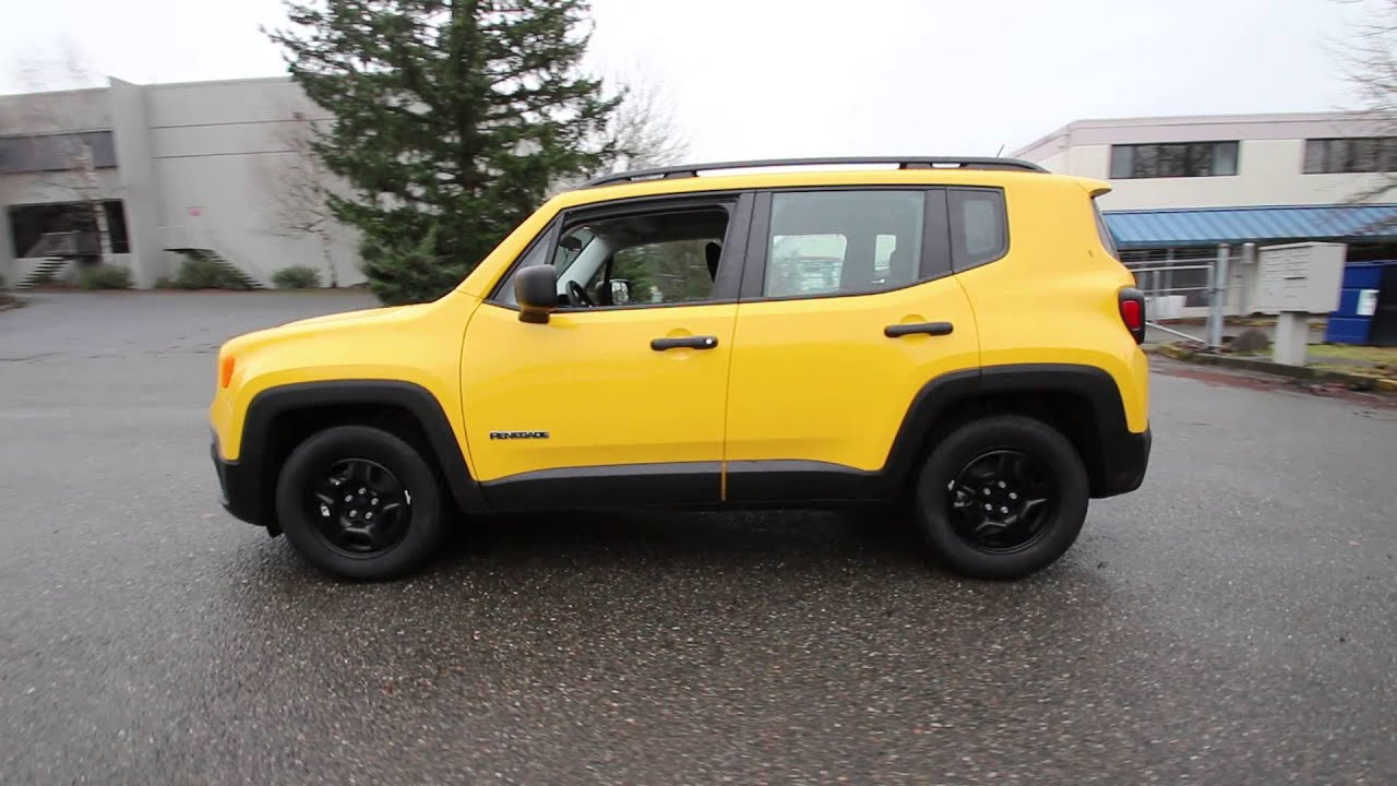 2015 Jeep Renegade Sport Yellow Fpc25745 Redmond