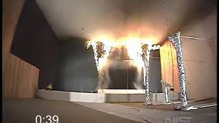 NIST Re creation of  The Station Night Club fire  without sprinklers