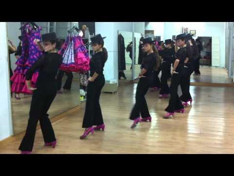 Tango Flamenco, academia de baile Antonia Peña