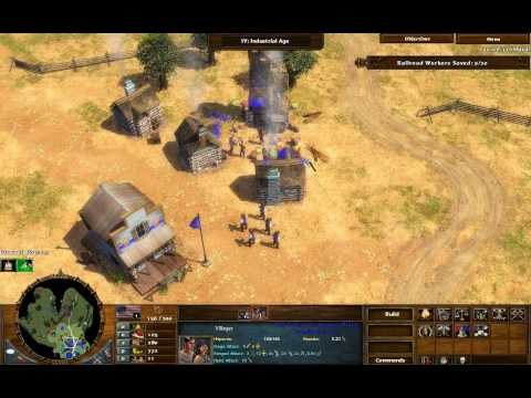 Red Cloud's War - Age of Empires 3 The Warchiefs - Act 2 Mission 2 - Hard