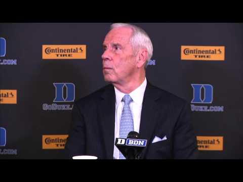 UNC Men's Basketball: Roy Williams Post Duke