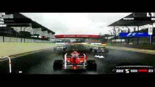 GAME PLAY FORMULA 1 2011 XBOX 360